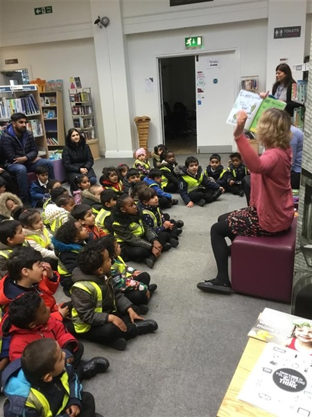 Nursery Visit to Fallowfield Library
