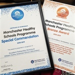 WHGS Wins Healthy Schools Award