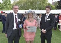 WHGS Celebrates DofE Success at Buckingham Palace